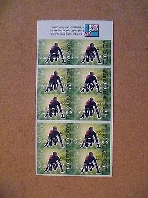 Australian Stamps - 2006 50c Commonwealth Games (booklet pane)