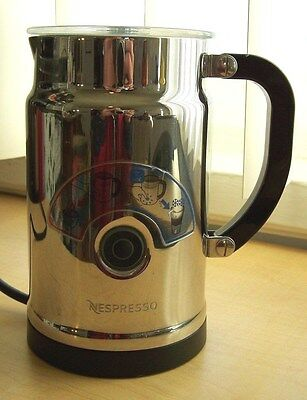 Nespresso Aeroccino Plus Electric Milk Frother Model 3192 Pre-owned