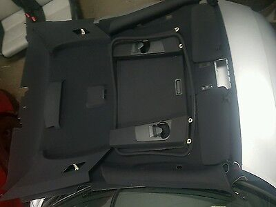 Bmw E46 Coupe M Sport Black Roof Head Lining Sun Roof All Pillars Trims Included