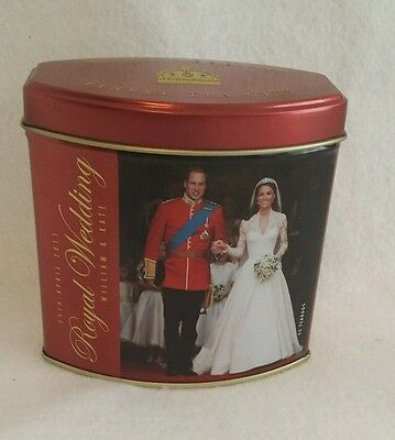 Royal Wedding William and Kate Empty Tin