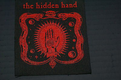 """The Hidden Hand Rare Never Used Mint Patches 4X4"""" Rare Wino Spirit Caravan Oop"""