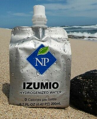 28 x IZUMIO Hydrogenized Waters - Naturally Plus