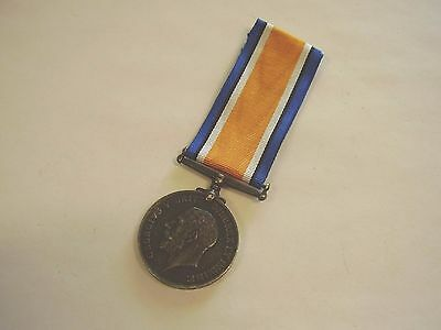 WW1 British War Medal 22 ASC AIF  Army Service Corps From Melbourne