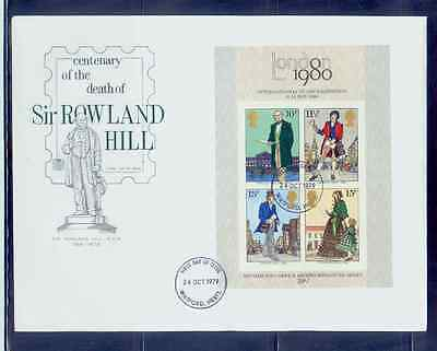 UK/1979 sir rowland hill fdc /MNH.good condition