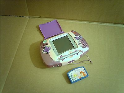 Leapfrog Leapster Learning Game System Console Pink Batteries Included