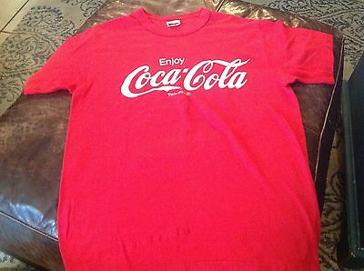 Vintage COCA COLA BARSTOW-CALICO 30K 1986 T-shirt L
