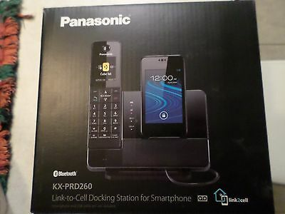 Panasonic Bluetooth KX-PRD260 Link to Cell Docking Station for Smartphone,Black