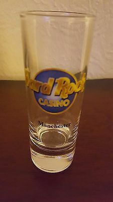 Hard Rock Cafe Casino Manchester Shot Glass