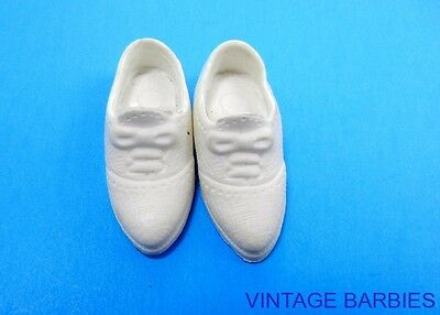 Ideal Tammy Doll White Shoes Mint Japan ~ Vintage 1960's