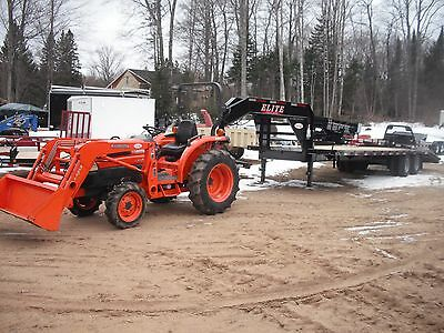 Kubota L3130 4X4, Loader, HST Trans, Compact Tractor