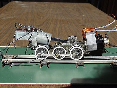 American Flyer large motor and chassis, newly rewound