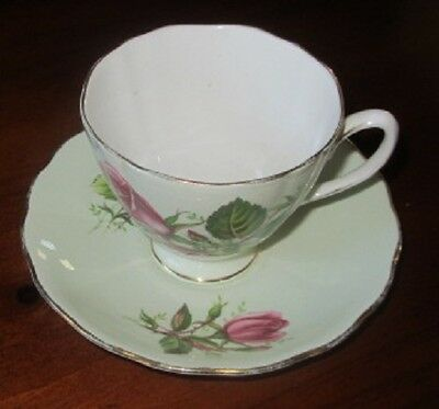 Vintage Colclough Bone China Tea Cup & Saucer.