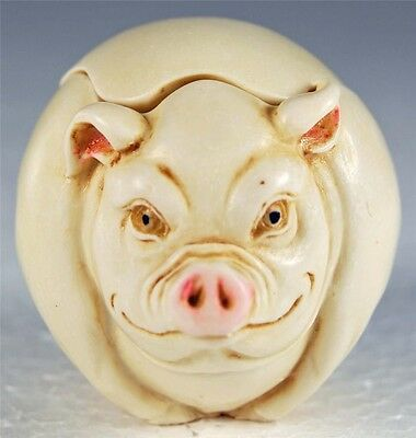 Harmony Kingdom Roly Poly Curly The Pig By Adam Binder Tjrppi - Mib