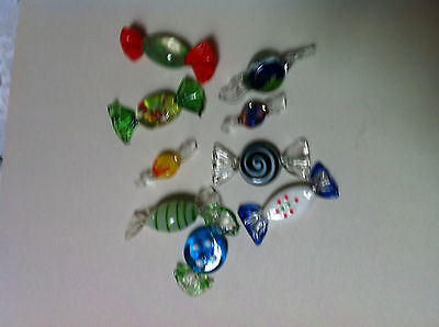 Murano Miniature Wrapped Glass Candies