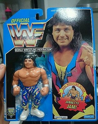 WWF Hasbro Pre Production Marty Jannetty Green Standard Tag Series 10 Rare
