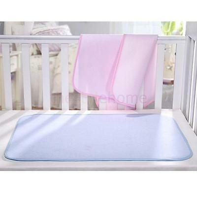 Baby Reusable Bamboo Diaper Nappy Changing Pad Waterproof Mats for Stroller Bed