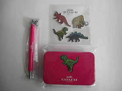 Coach Dinosaur Stationary set