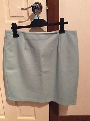 Ladies leather look skirt size 14