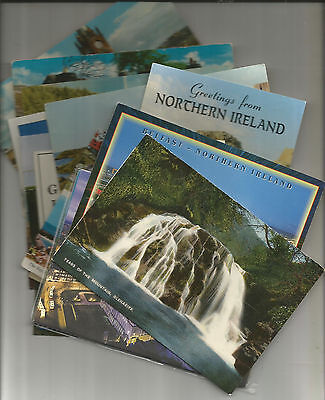 21 Postcards Of Northern Ireland, Belfast, Antrim, Armagh, Londonderry, Down