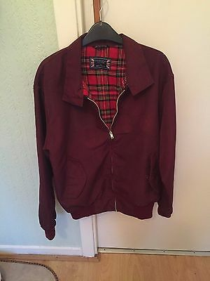 VINTAGE MENS HARRINGTON JACKET, Size Medium