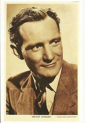 Trevor Howard, Actor, Nostalgia Postcard Collector's Club Card