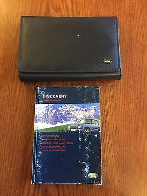Land Rover Discovery 2 TD5 V8 Facelift Owners Manual Handbook Disco Two