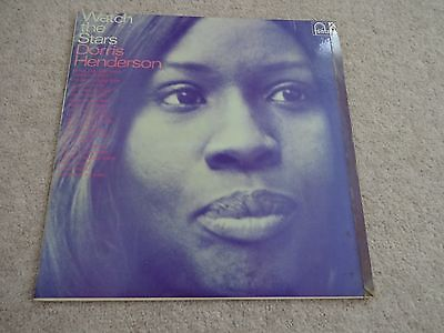 Dorris Henderson ‎– Watch The Stars Fontana TL5385 LP Record Folk RARE MONO '67