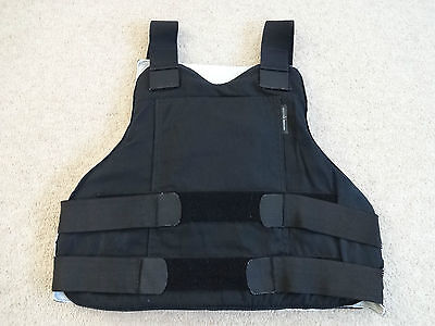 Second Chance Body Armour Vest + Front Back Trauma Inserts / Strike Plate IIIA