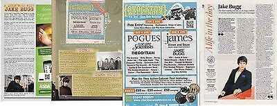 JAKE BUGG : CUTTINGS COLLECTION -interviews adverts-