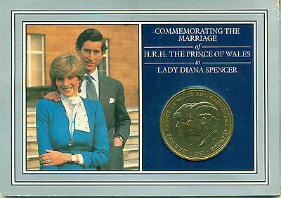 Diana Princess Of Wales Great Britain Royal Wedding Coin, Stamps & Booklet