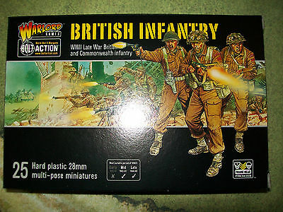 Warlord Games 25mm British Infantry