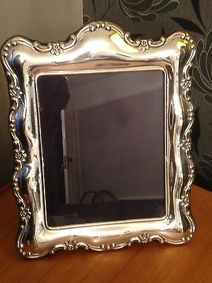 Carrs Of Sheffield Large Traditional Silver Photo Frame 10 X 8 Picture Hallmark