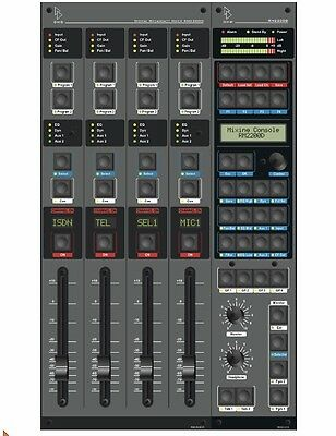 DHD RM2200d Digital Radio Broadcast-Mixer / Mischpult / Console / Konsole / Pult