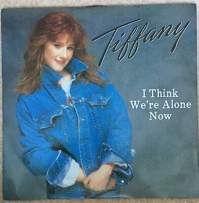 "Tiffany I Think We're Alone Now 12"" Single Vinyl"