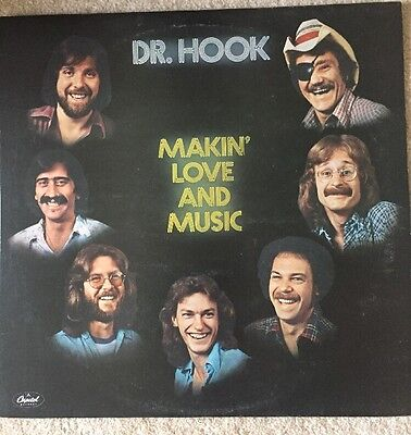 Dr. Hook Makin' Love And Music Vinyl Album USA Capitol Records