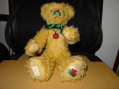 Dean's Cardiff Jamboree bear signed by Neil Miller limited Edition 2003