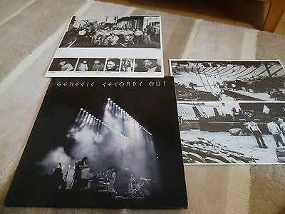 Genesis Seconds Out 1977 Gatefold Double Record Vinyl