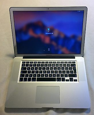 "Apple MacBook Pro 15"" 2.0GHz Quad Core i7 / 8GB RAM / 500GB HDD (2011)"
