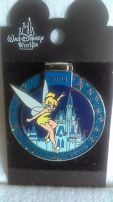 Disney's Pass Holder Exclusive 2004 Tinkerbell LE Where The Magic Lives Pin