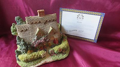 Lilliput lane Cotman cottage the 1993 anneversary cottage with deeds