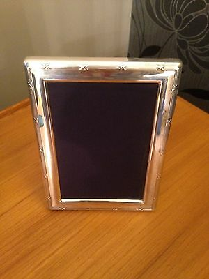 CARRS OF SHEFFIELD STIRLING SILVER PHOTO FRAME 4 x 6 PICTURE HALLMARK