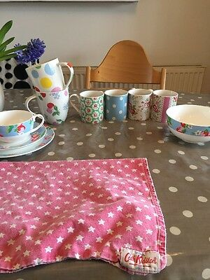 Cath Kidston Mugs And Bowl, Plate And Tea Cup Set