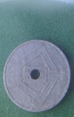 1946 Belgium 25 cents coin collectablew