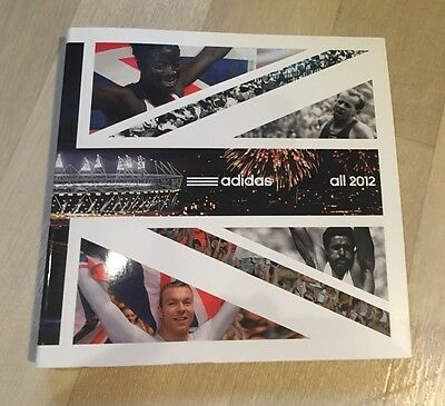 Adidas All 2012 Olympic History Book Rare Collectable Originals