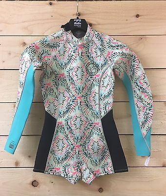 BILLABONG WETSUIT LADIES 2MM SPRING FEVER LONG SLEEVE SHORTY 2017 model