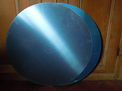 One Aluminium disc AA5005 . From  1.5mm sheet  . Approx  600mm diameter