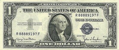 1935-D $1 Silver Certificate ~ Narrow ~ Choice Crisp New  Consecutives Available
