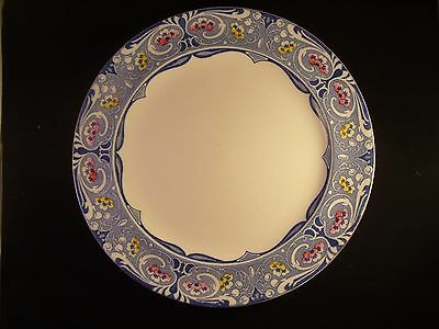 "2 X 1914 Burgess And Leigh 26 Cms Diameter Plates ""newlyn"""