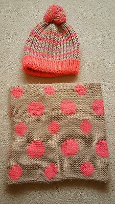 Girls hat & snood set from Next age 11-13 years