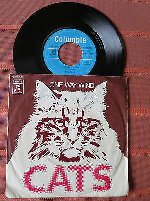 "Single 7"" THE CATS – ONE WAY WIND – Pop Rock 1971"